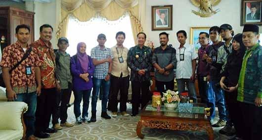 Gubernur Sulteng Dukung Program Peningkatan Kapasitas Wartawan