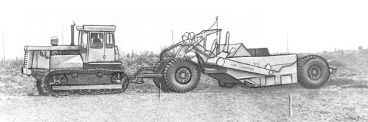 Similar, laser-levelled concept with a DZ-122A-13 motor grader.