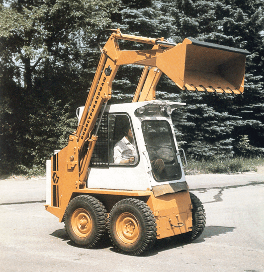 A skid steer loader, better known on American jobsites as a