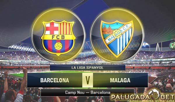Prediksi Barcelona vs Malaga (Liga Spanyol) 19 November 2016 - PLG