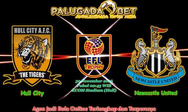 Prediksi Hull City vs Newcastle United (Piala Liga Inggris) 30 November 2016 - PLG
