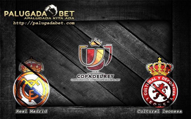 Prediksi Real Madrid vs Cultural Leonesa 1 Desember 2016 (Copa del Rey)