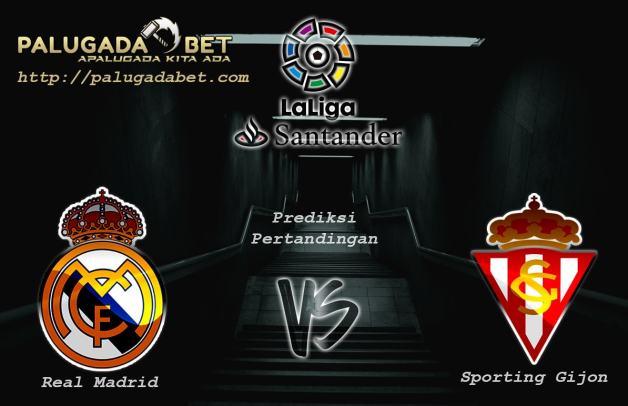 Prediksi Real Madrid vs Sporting Gijon 26 November 2016 (LaLiga Santander)