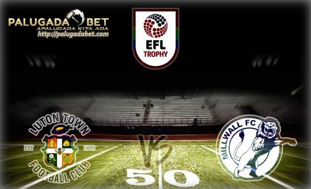 Prediksi Luton Town vs Millwall 9 November 2016 (EFL Trophy Grup H)