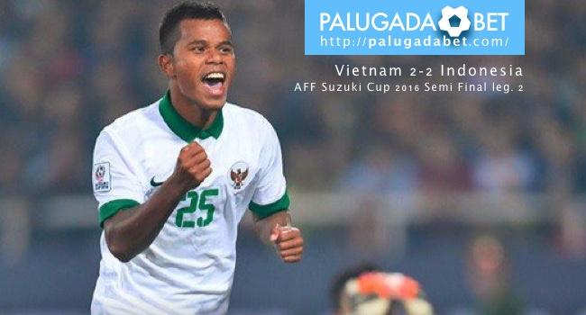 Manahati Lestusen PSSI Indonesia AFF Suzuki Cup 2016