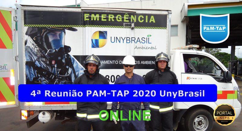 4ª Reunião PAM-TAP 2020 Online UnyBrasil