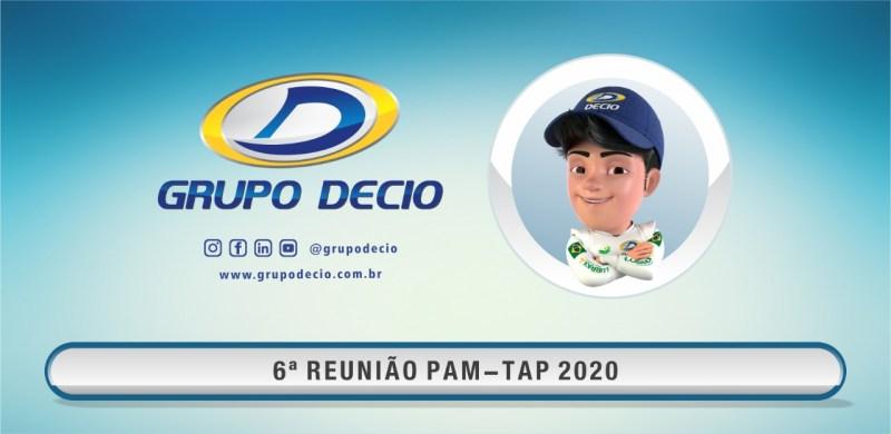 6ª Reunião PAM-TAP 2020 Online Grupo DECIO