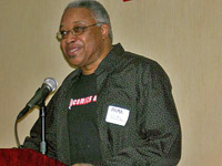 Calvin Reid, of Publishers Weekly, the keynote speaker of our April 4 Comics-focused luncheon