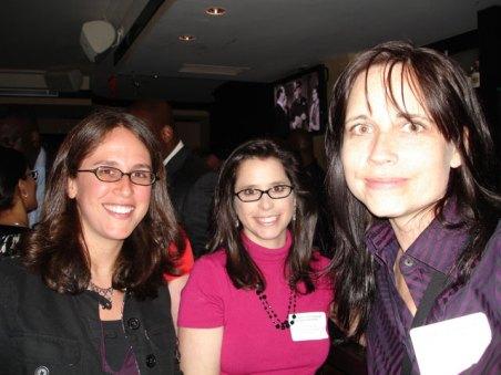 Brett Wagman of HarperCollins Childrens, Rachel Weiss-Feldman of AAUP, and Steffen Mathis from Princeton University Press