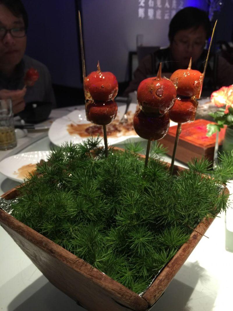 大董烤鴨: 北京糖葫蘆