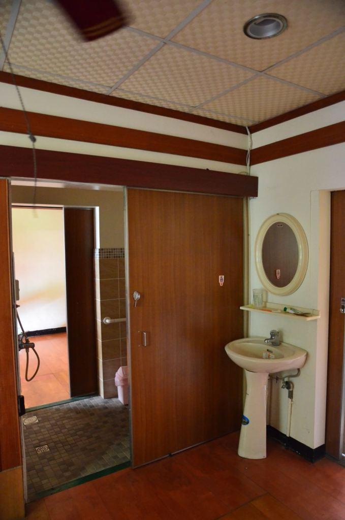 個人套房內的獨立衛浴