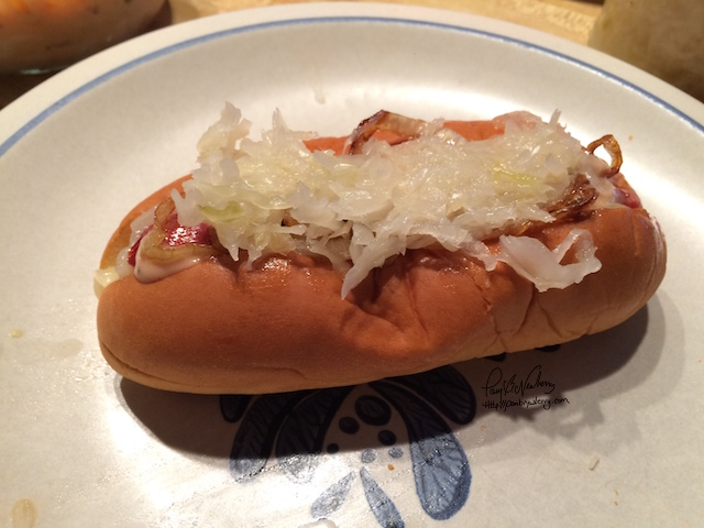 Hot Dog Reuben