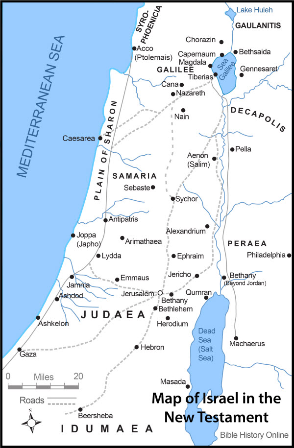 Map-Israel-New-Testament-Times-color9