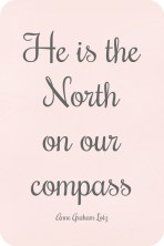 He is the north on our compass Anne Graham Lotz daniel book