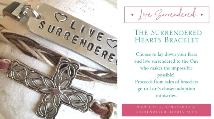 Flyer 1 Surrendered Hearts Bracelet - fb