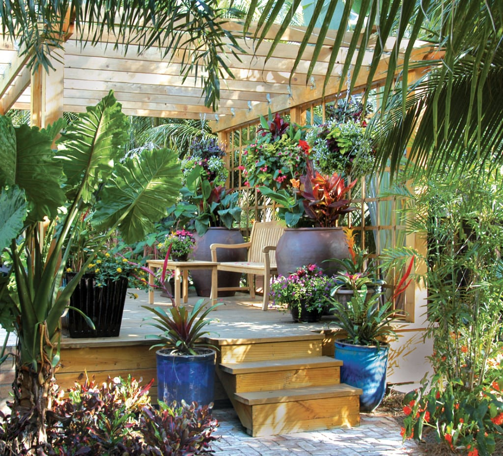 Outdoor Living Structures for the Palm Beach Landscape ... on Garden And Outdoor Living  id=98948
