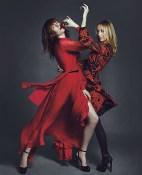 Florence Welch e Frida Giannini da Gucci