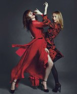 Florence Welch e Frida Giannini da Gucci