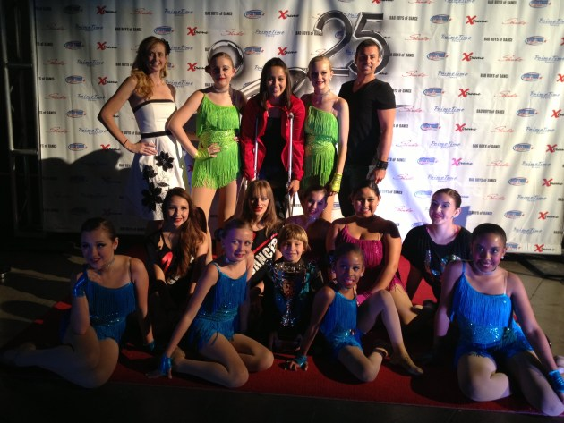 Showbiz Nationals Production Number First Place