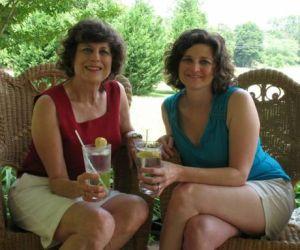 Authors Julie Morris and Sarah Morris Cherry