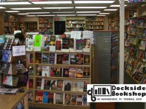 Our newest store: Dockside Books in St. Thomas, USVI.