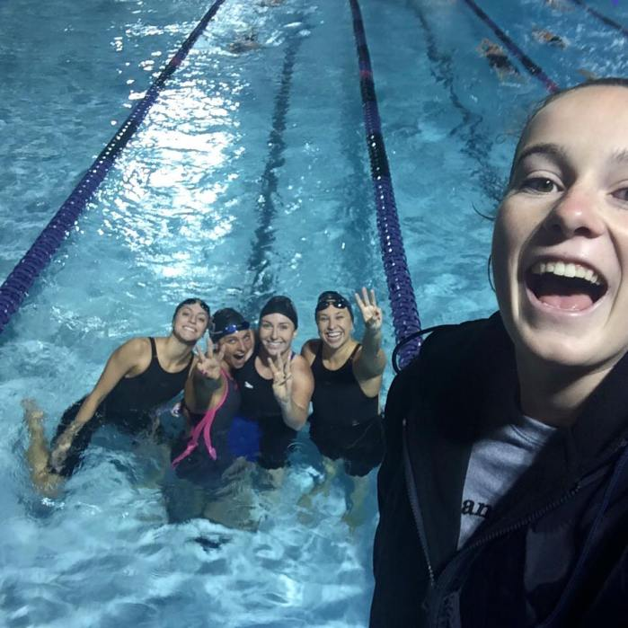 200 free relay sciac 2015 bean happyyyyy