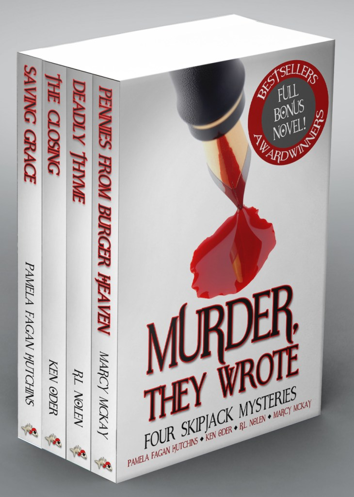 Book Cover: Murder, They Wrote: Four SkipJack Mysteries