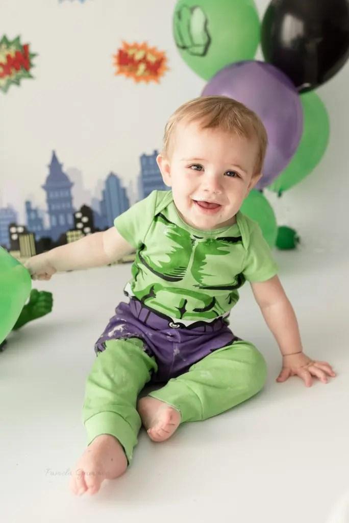 Incredible Hulk Baby Photography