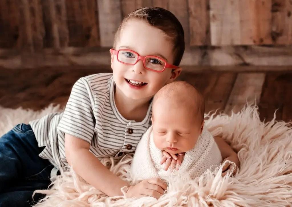 Sibling Newborn Photos