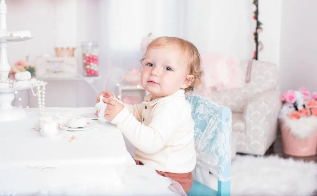 Baby Photographer Tea Party Session