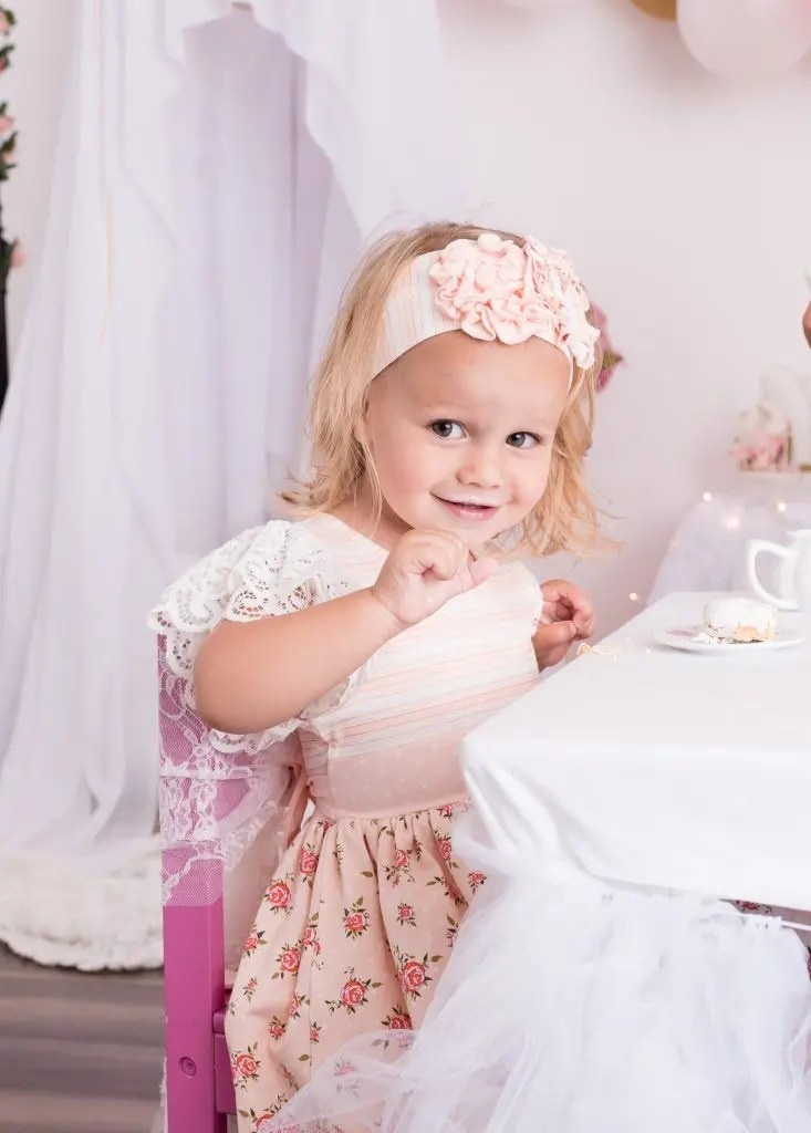 Child Photography Tea Party Eastern Kentucky