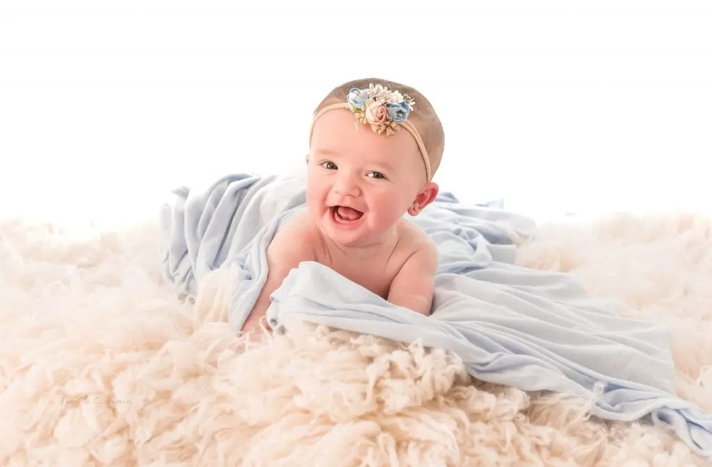 6 Month Baby Girl Photography