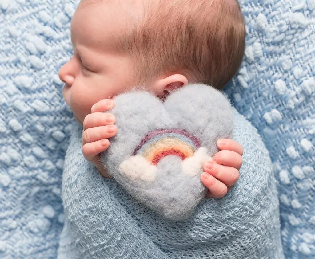 Rainbow Newborn Photography Session