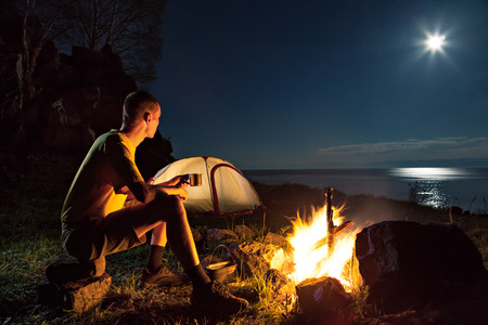 Alone in the Darkness and Light of My Own Thoughts