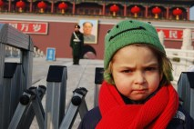Dylan at the Forbidden Palace