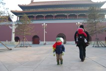 The last people at the Forbidden City