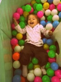 Isabel having fun