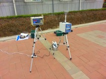 Monitoring the pollution on campus: the results were not good