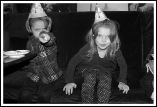 Birthday boy and sister