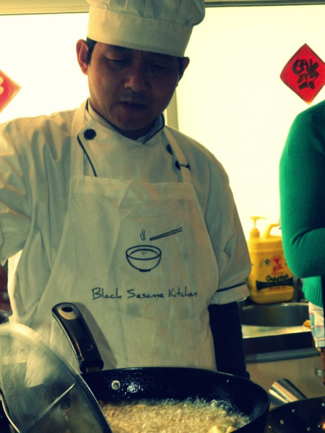 A Black Sesame Kitchen Chef