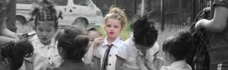 Hair & Make-up by the teachers