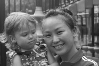 Isabel with Dylan's English teacher, Carol