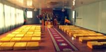 Buddhist temple meeting room