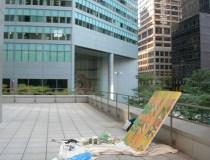 Painting on site, 601Lexington Avenue