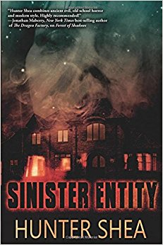 Book Review – Sinister Entity by Hunter Shea