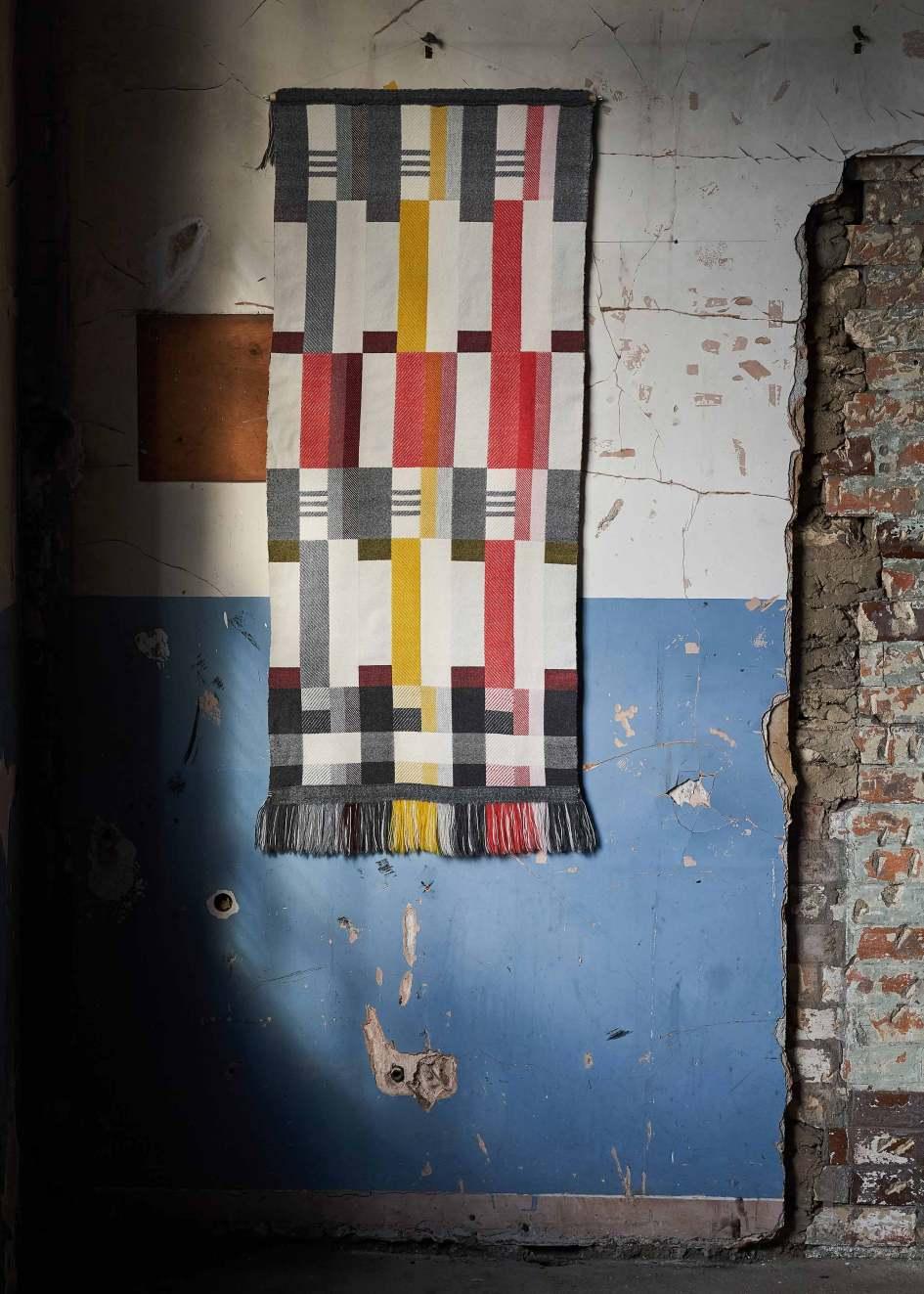 Pamela Print Wall Art Art Deco Geometric block colour Bauhaus modernist