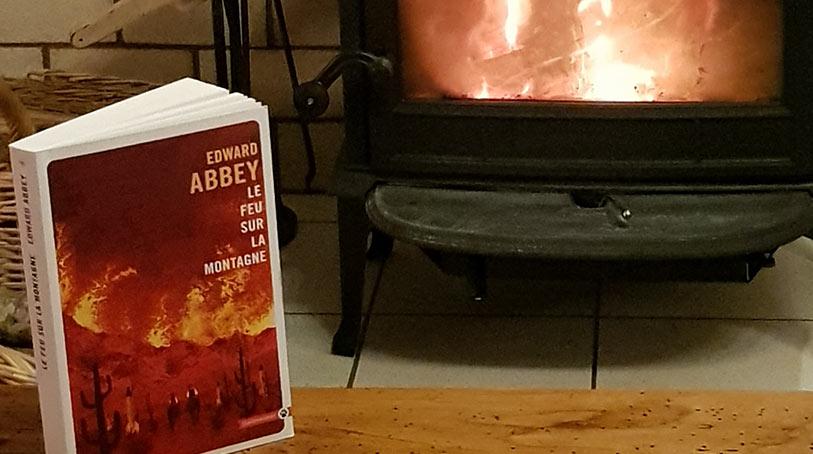 edward abbey feu sur la montagne
