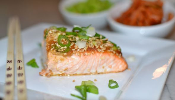 Soy Ginger Salmon