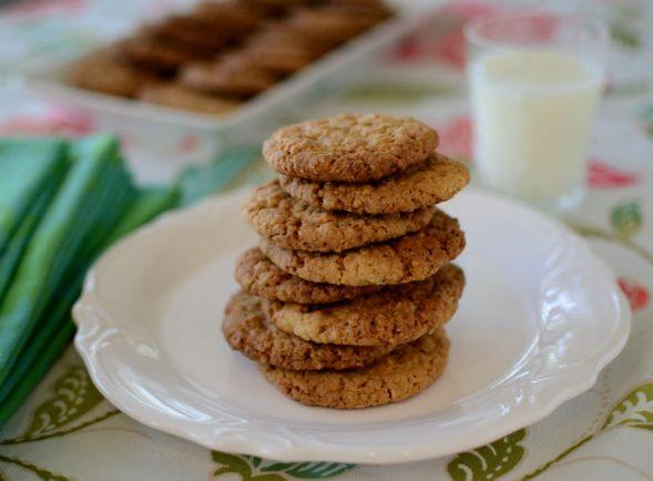 Peanut Butter Oatmeal Cookies - Gluten Free