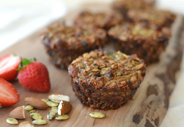 Gluten Free Vegan Breakfast Muffins